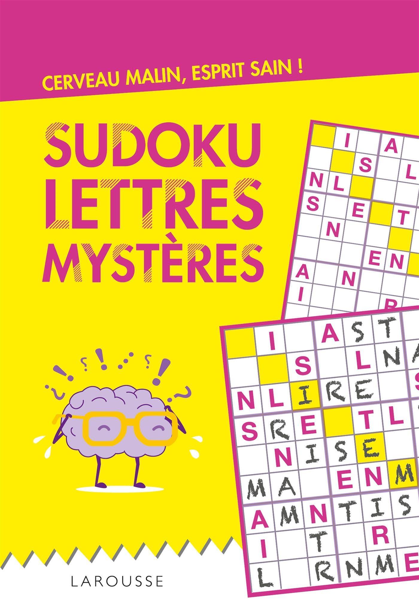 Livre Sudoku Lettres Mysteres | Messageries Adp avec Sudoku Lettres À Imprimer