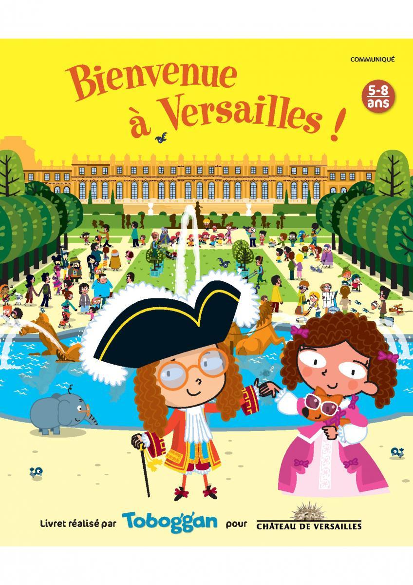 Livret-Jeu – Bienvenue À Versailles | Château De Versailles destiné Jeux Gratuit Garcon 5 Ans