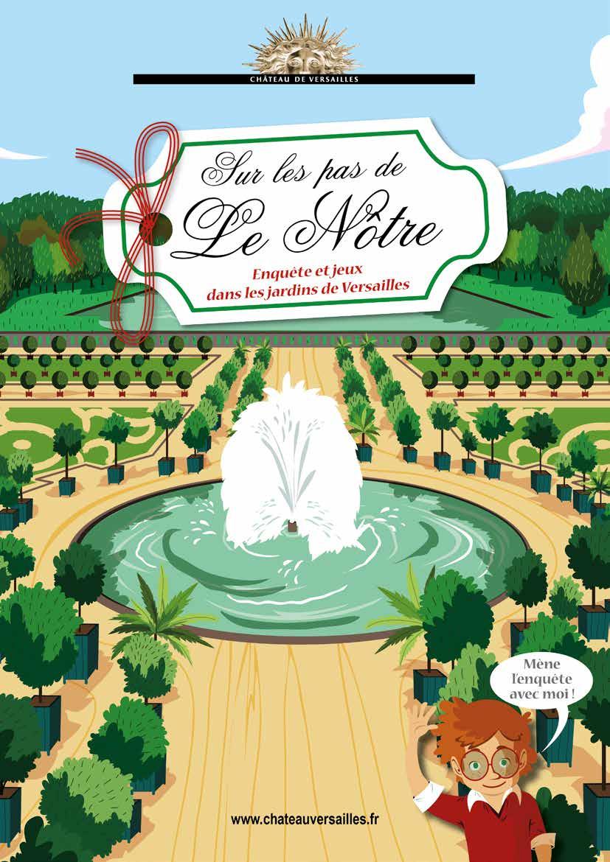 Livret-Jeu – Sur Les Pas De Le Nôtre | Château De Versailles dedans Telecharger Jeux Enfant