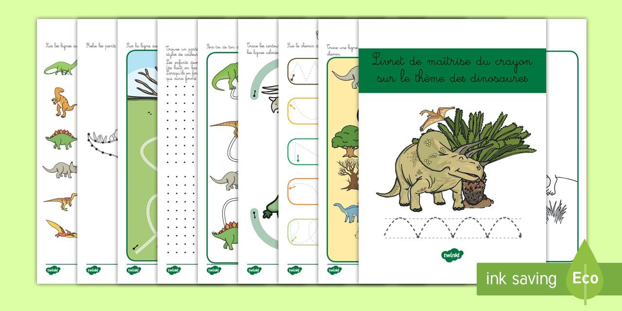 Livret Pour La Maîtrise Du Crayon Sur Le Thème Des destiné Jeux En Ligne Maternelle Petite Section