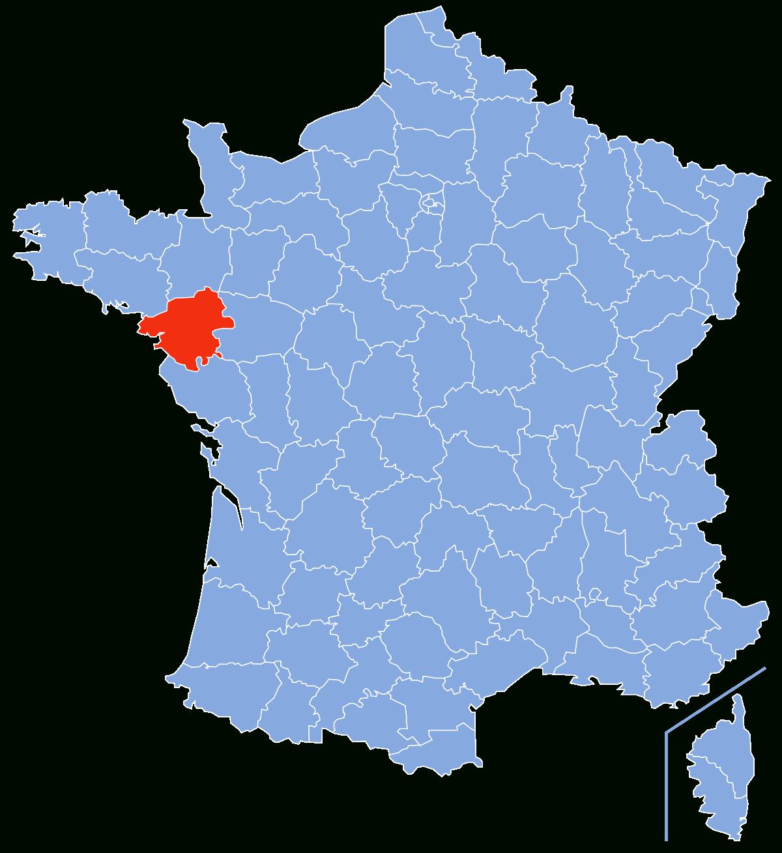 Loire-Atlantique — Wikipédia intérieur Carte De France Avec Département