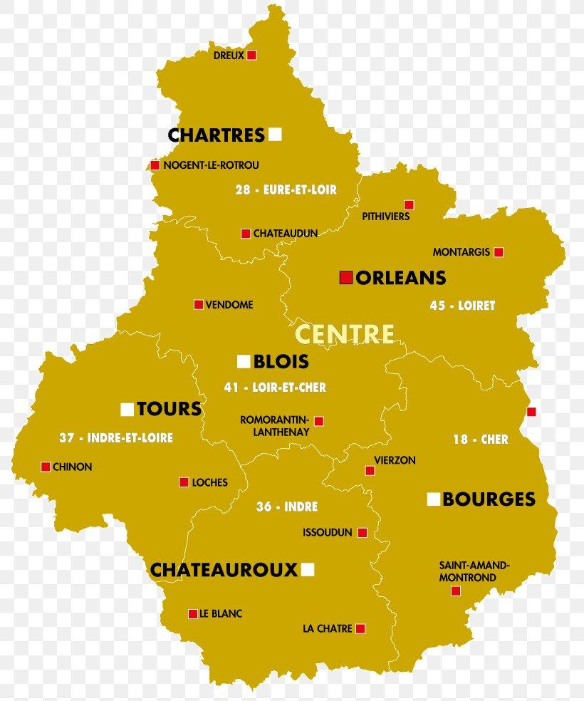 Loire Cher Regions Of France Blois Map, Png, 800X984Px tout Liste Region De France