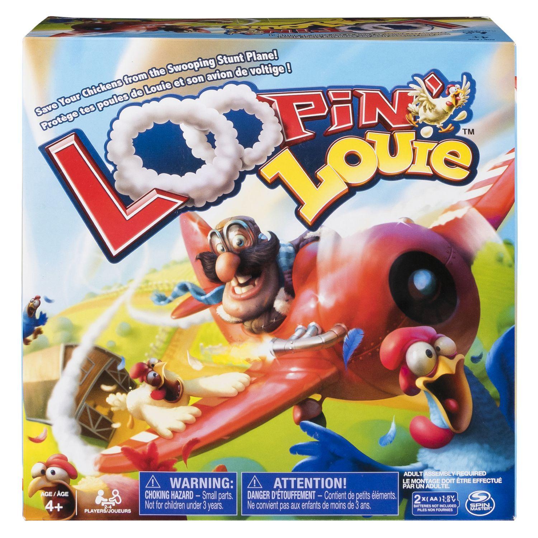 Loopin' Louie – Jeu De Société Familial Interactif Pour Les Enfants À  Partir De 4 Ans à Jeux Societe Interactif