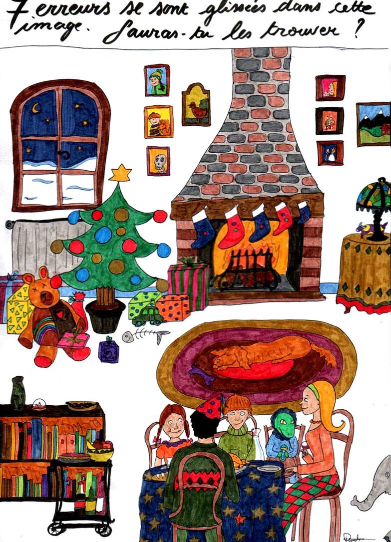 L'orange Déicide: Grand Concours De Noël ! Le Jeu Des 7 concernant Trouver Les 7 Erreurs