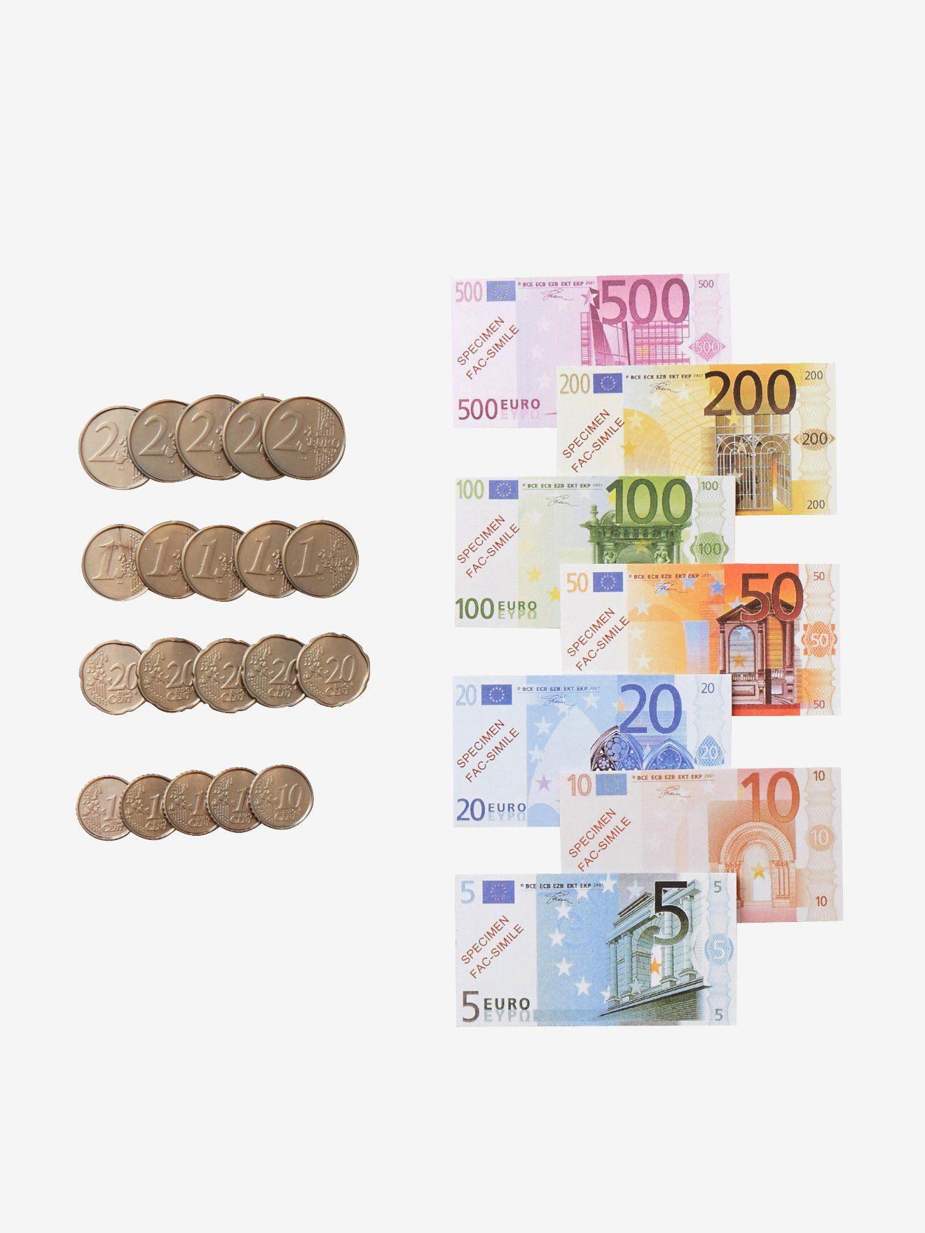 Lot De Monnaie Factice Multicolore - Vertbaudet | Caisse encequiconcerne Argent Factice À Imprimer