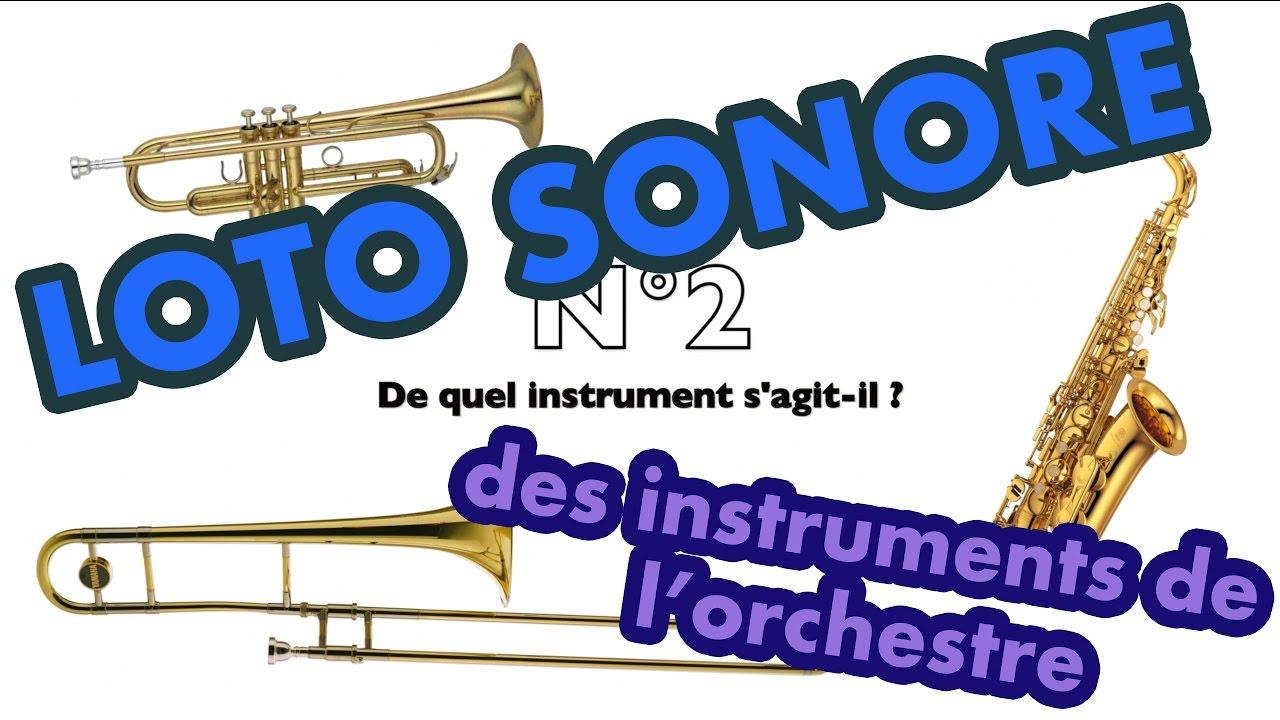 Loto Sonore, Reconnaissance Des Timbres (Sons) Des Instruments De Musique intérieur Jeu D Instruments
