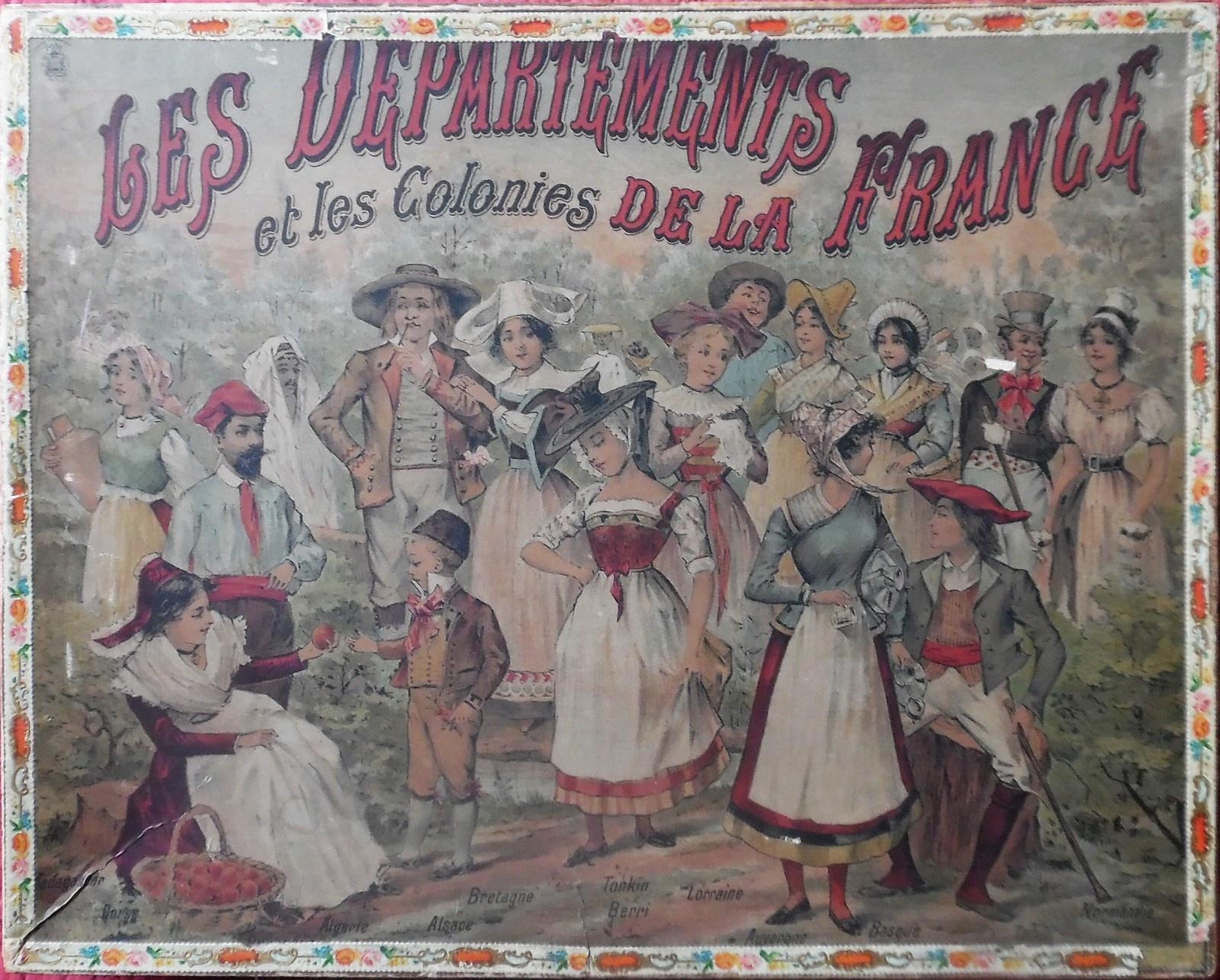 Lotos Géographiques Departements. - Collection De Jeux Anciens destiné Jeux Des Départements Français