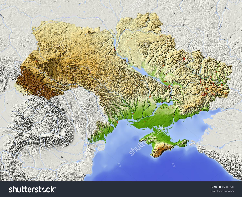 L'ukraine Géographie Carte - Carte De L'ukraine, De La pour Carte Géographique De L Europe
