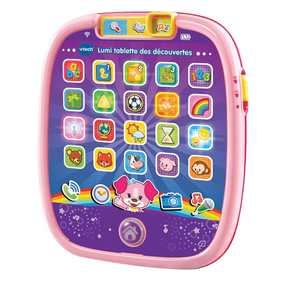 Lumi Tablette Fille - Vtech encequiconcerne Tablette Enfant Fille