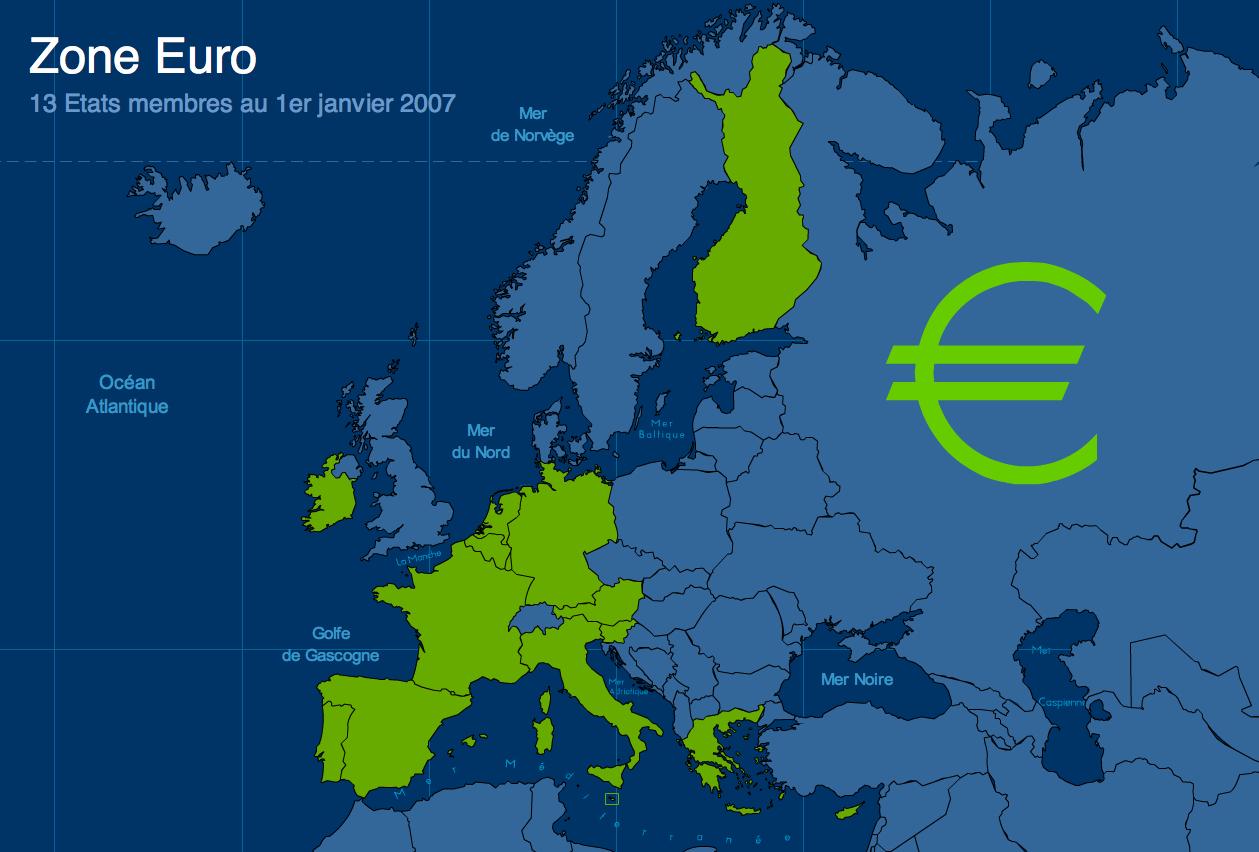 L'union Européenne : La Carte Des 27 Pays Membres - La P à Carte Construction Européenne