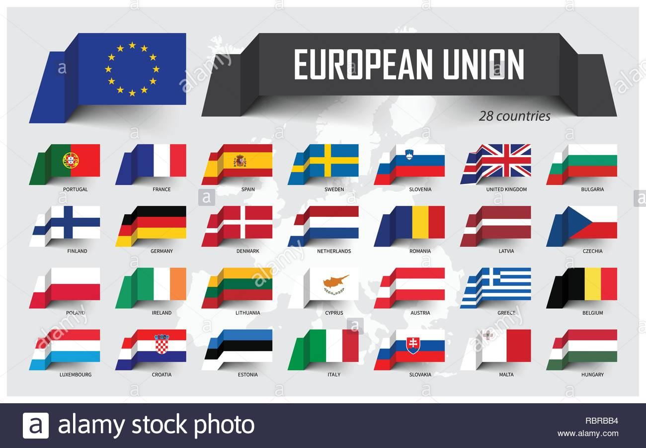 L'union Européenne . Union Européenne Et Son Adhésion avec Carte Union Européenne 28 Pays