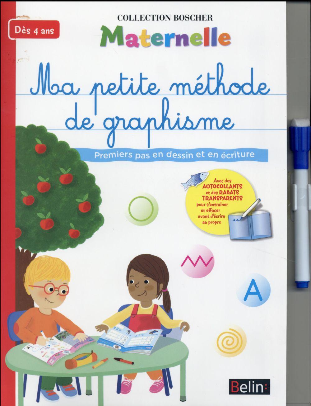 Ma Petite Méthode De Graphisme ; Maternelle - Barbara Arroyo - Belin  Education - Grand Format - Place Des Libraires avec Livre Graphisme Maternelle