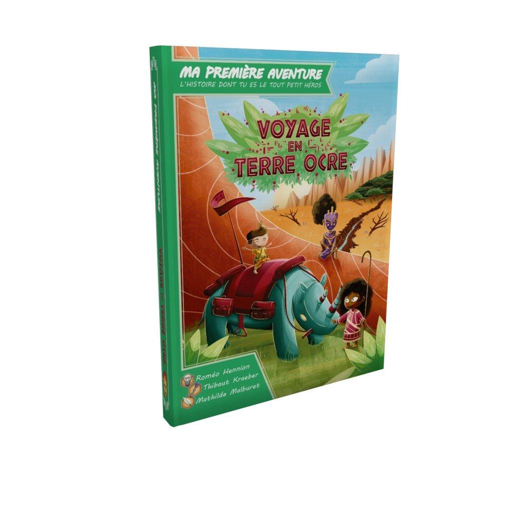 Ma Première Aventure – Voyage En Terre Ocre - Livres-Jeux intérieur Jeux Tout Petit