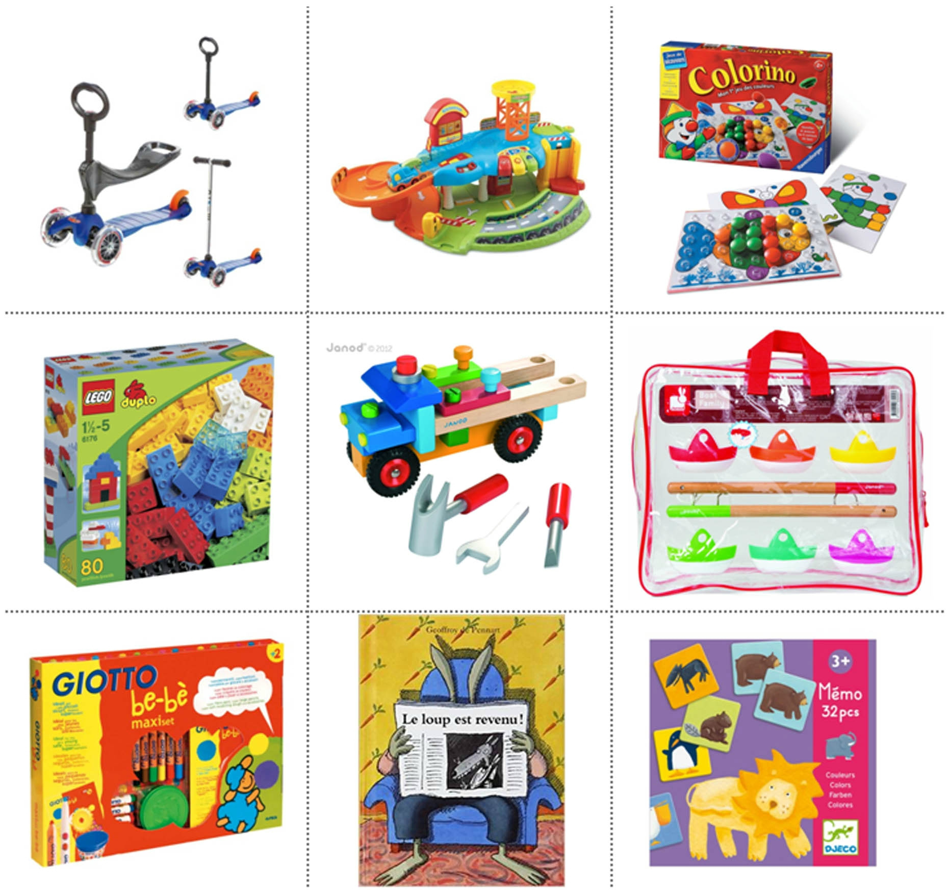 Ma Sélection De Cadeaux Pour Enfants De 2 Ans - La Page De avec Jeux Educatif Enfant 2 Ans