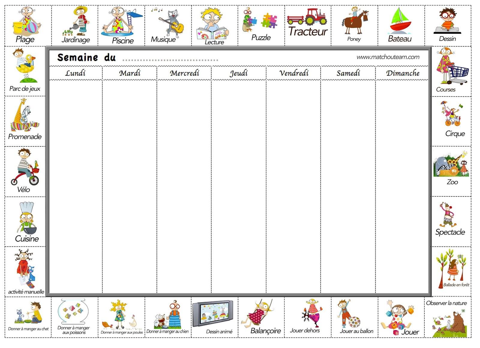 Ma Tchou Team: Cahier De Vacances Des Petits avec Cahier De Vacances Maternelle À Imprimer