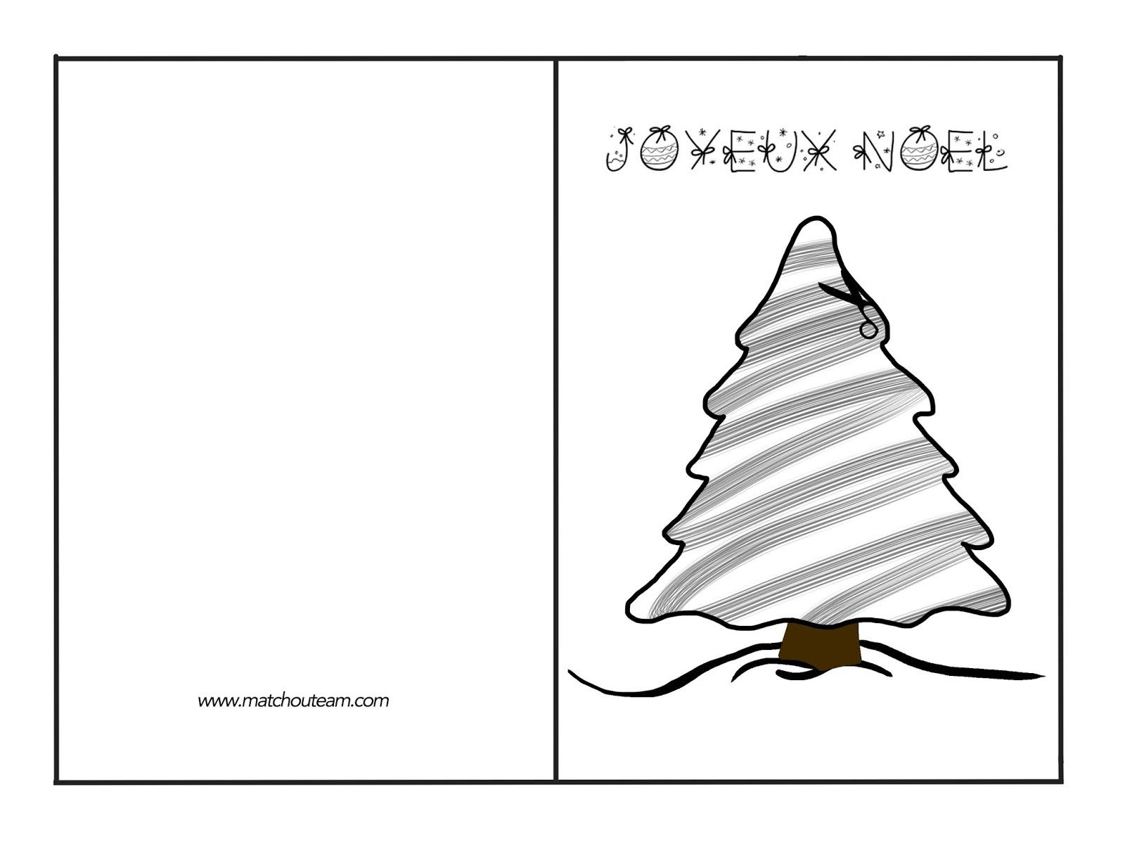 Ma Tchou Team: Carte Joyeux Noël avec Gabarit Sapin De Noel