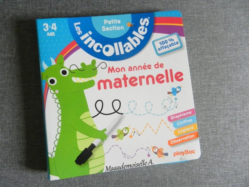 Maaademoiselle A.: || Les Incollables - Mon Année De avec Livre Graphisme Maternelle
