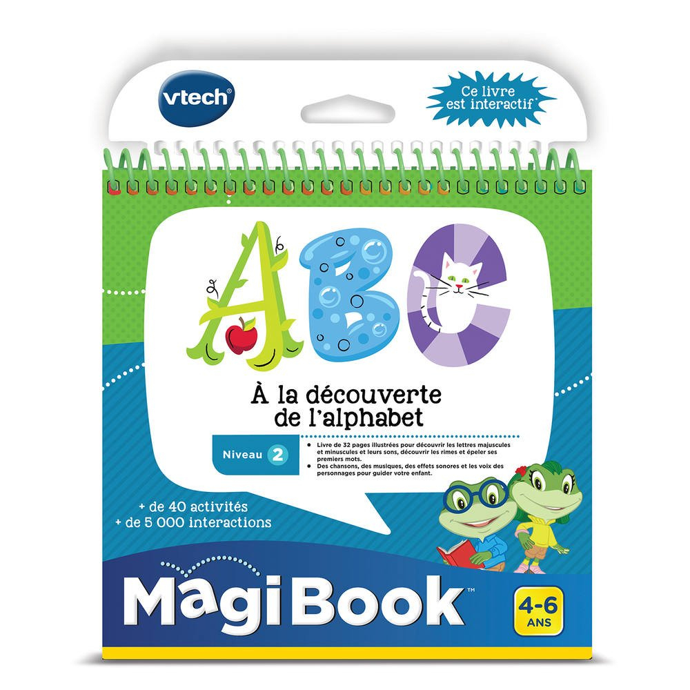 Magibook Abc A La Decouverte De L'alphabet encequiconcerne Jeux Interactifs 6 Ans