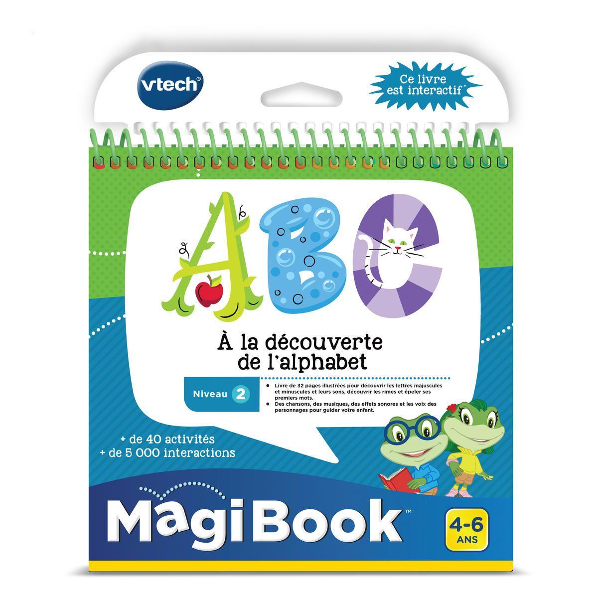 Magibook Abc A La Découverte De L'alphabet - Jeux Éducatifs tout Jeu Educatif 4 Ans