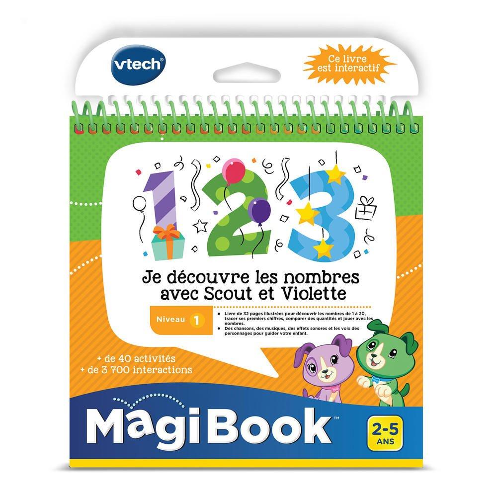 Magibook - Je Decouvre Les Nombres Avec Scout Et Violette encequiconcerne Ordinateur 3 Ans