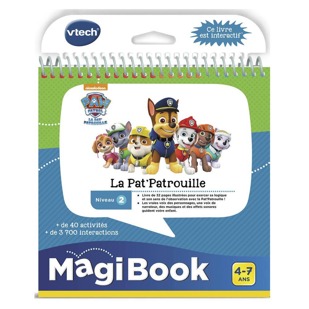 Magibook - Livre Educatif La Pat' Patrouille à Telecharger Jeux Educatif Gratuit 4 Ans