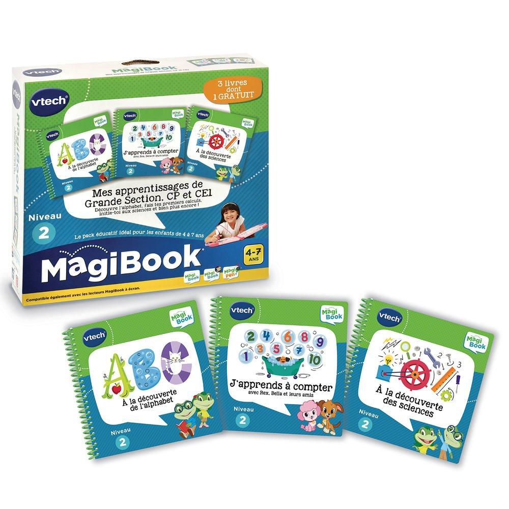 Magibook - Livres Mes Apprentissages De Grande Section, Cp Et Ce1 destiné Jeux Educatif Grande Section