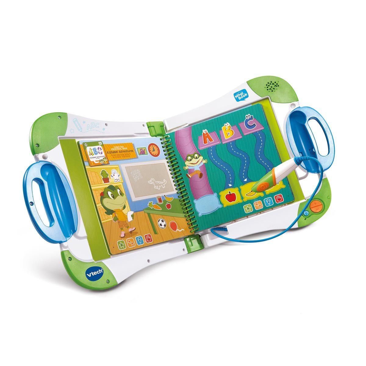 Magibook - Starter Pack Vert Vtech : Avis Et Comparateur De Prix dedans Jeux Educatif Enfant 2 Ans
