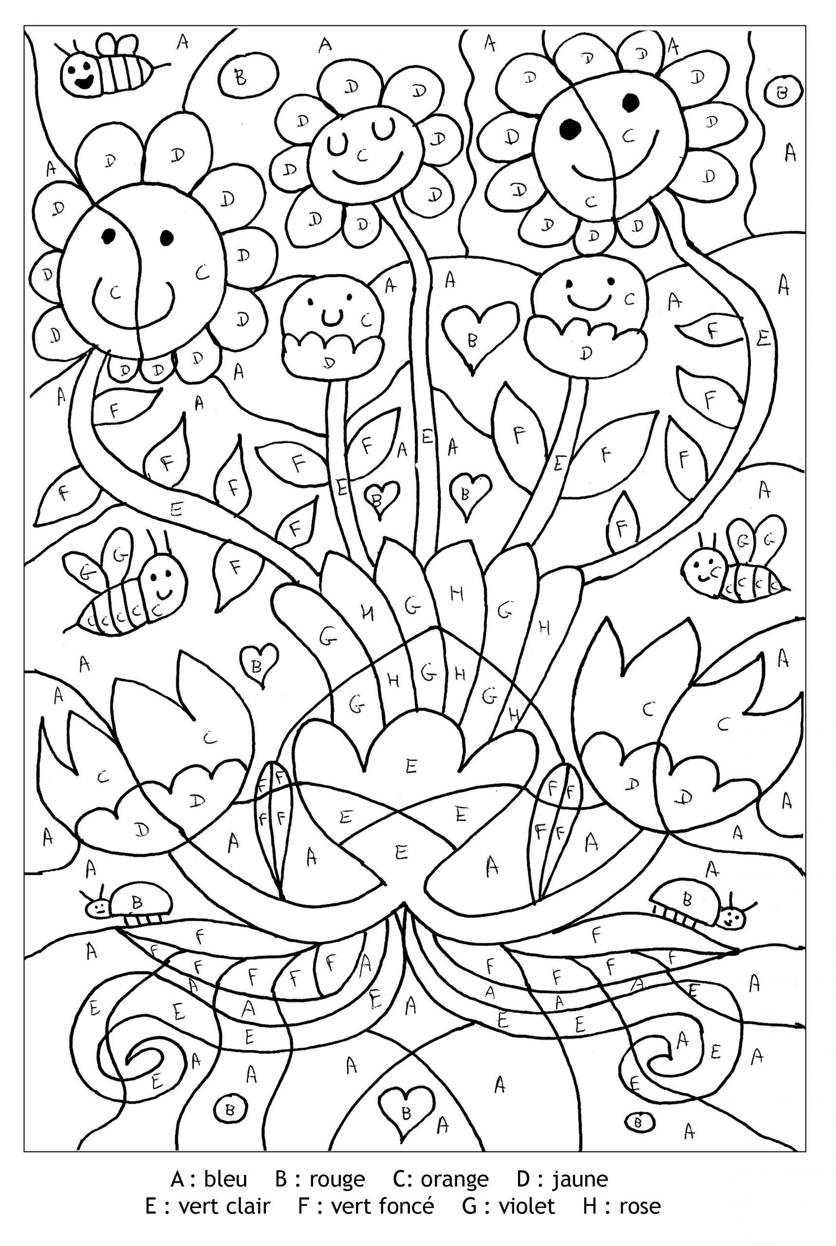 Magic Coloring #142 (Educational) – Printable Coloring Pages dedans Coloriage Codé Cp