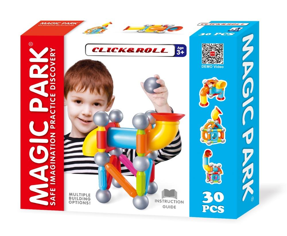 Magic Park : Jeu Magnétique D'éveil De Construction Pour Enfants À Partir  De 3 Ans (30 Pièces) concernant Jeux Pour Enfant De 3 Ans