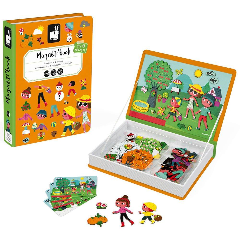 Magneti'book 4 Saisons | Jeux Educatifs | Jouéclub intérieur Jeux Educatif 4 Ans Gratuit En Ligne