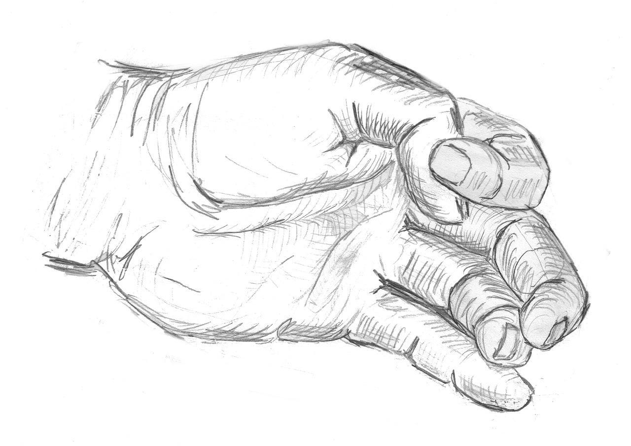Main Dessin : Comment La Dessiner ? avec Modèles De Dessins À Reproduire