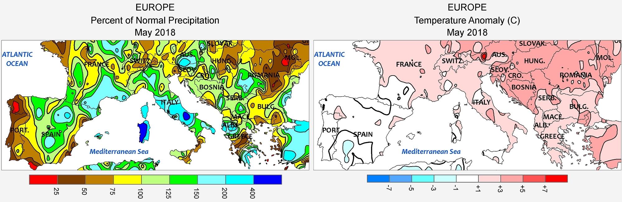 Main Processing Regions: Weather Conditions As Of 6 June intérieur Region De France 2018