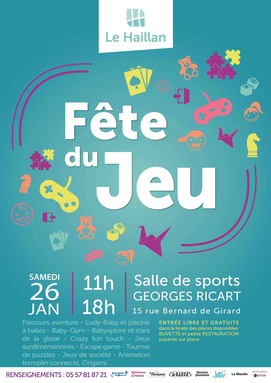 Mairie Du Haillan - Fête Du Jeu encequiconcerne Jeux De Parcours Gratuit