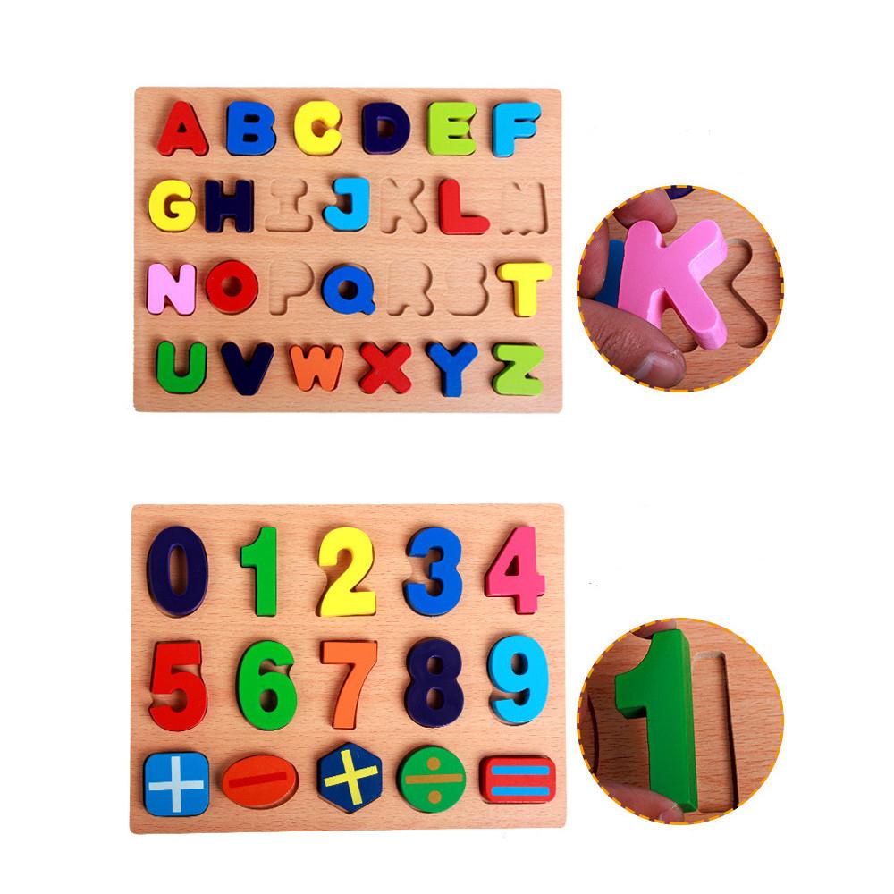 Majuscule Minuscule Abc Jouet D'apprentissage Précoce Alphabet Numéro  Puzzle Préscolaire Éducatif Bébé Jouets Pour Enfants Enfants Cadeaux Re4 dedans Modele Alphabet Majuscule