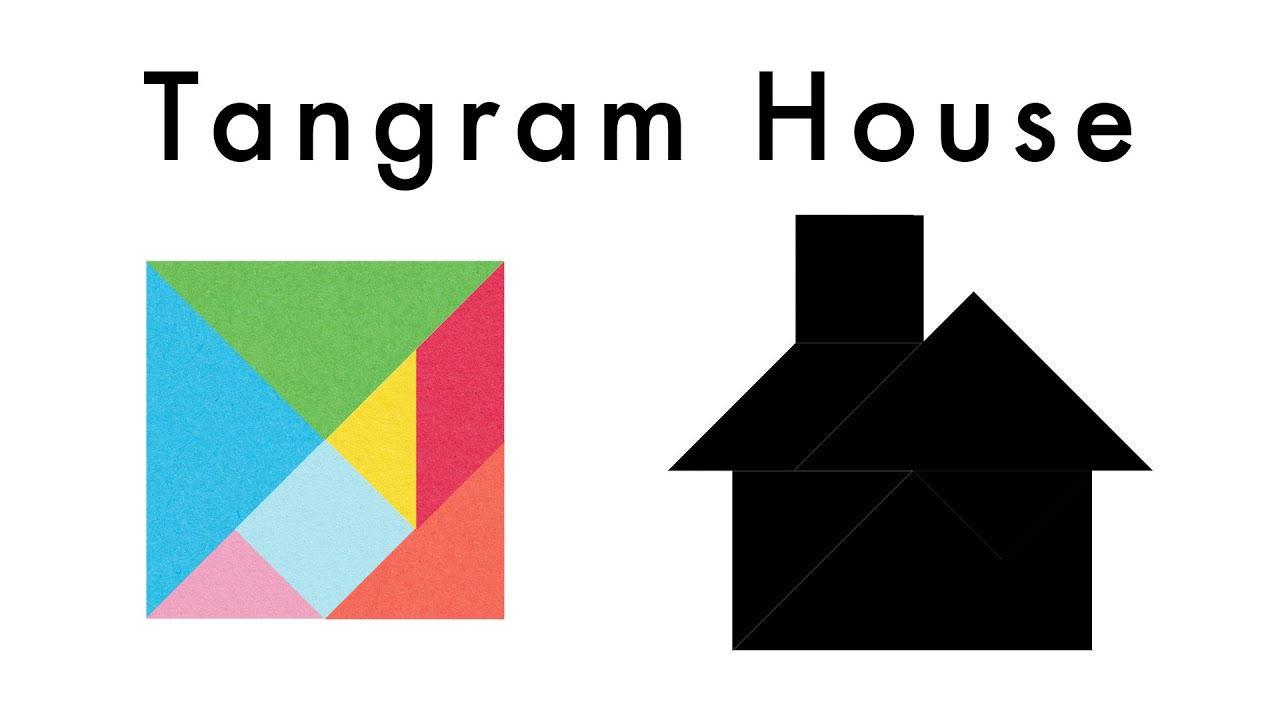 Make This Tangram House 🏠 - Download A Free Tangram Puzzle Sheet In The  Video Description à Tangram Simple