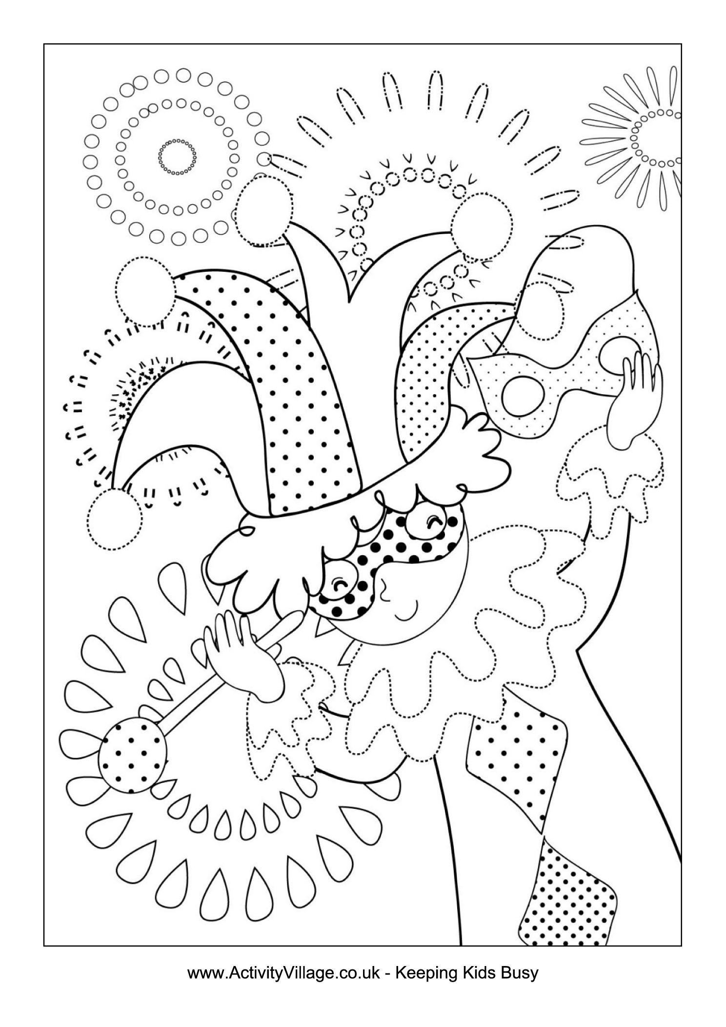 Making_Masks_Coloring_Page | Coloriage Carnaval, Dessin encequiconcerne Coloriage De Carnaval A Imprimer Gratuit