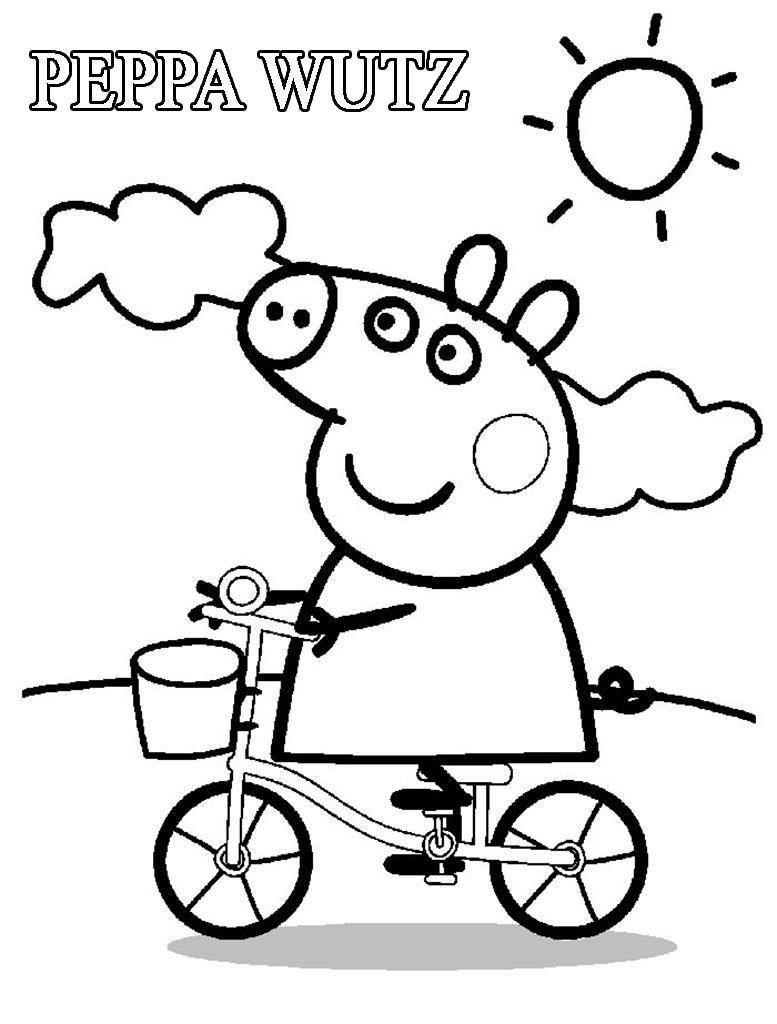 Malvorlagen Peppa Wutz #peppapig Malvorlagen Peppa Wutz serapportantà Peppa Pig A Colorier