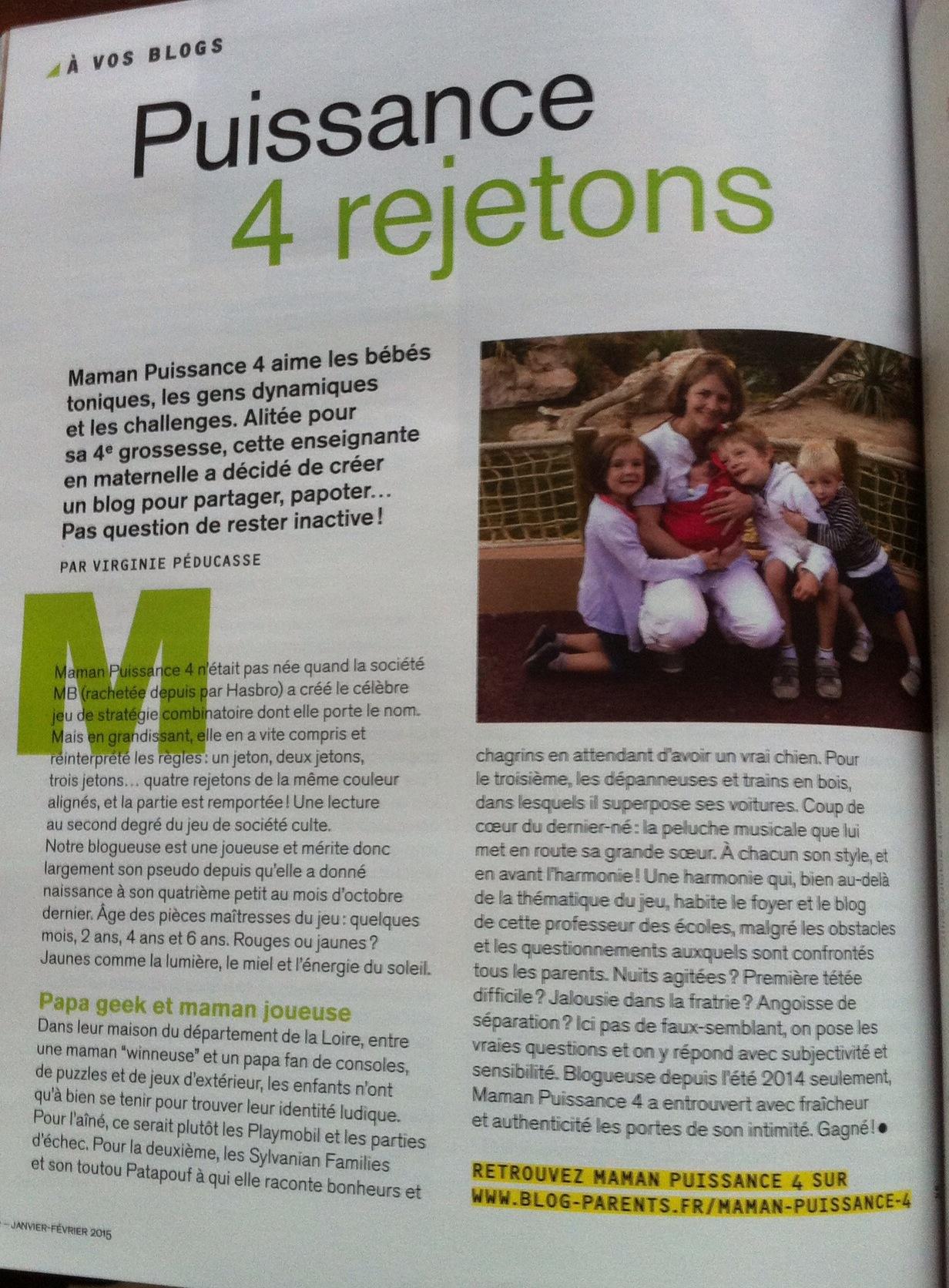 Maman Puissance 4 Une Semaine De Petits Bonheurs - Numéro 5 encequiconcerne Puissance 4 A Deux