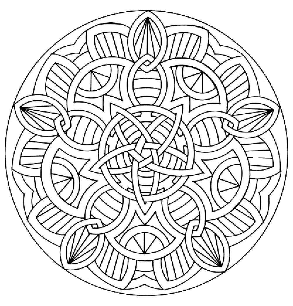 Mandala 11 | Coloriage Mandala, Mandala À Imprimer, Coloriage concernant Hugo L Escargot Coloriage Mandala