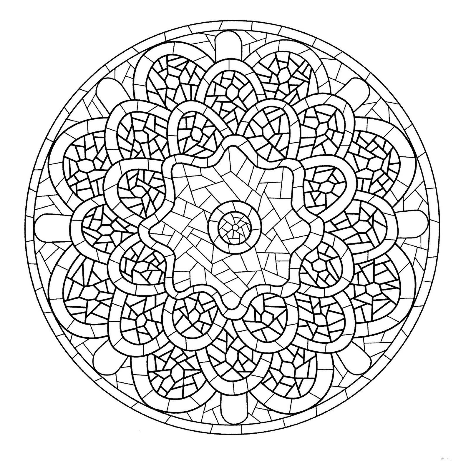 Mandala A Colorier Gratuit A Imprimer 7 – Mandalas De avec Image A Colorier Gratuit A Imprimer