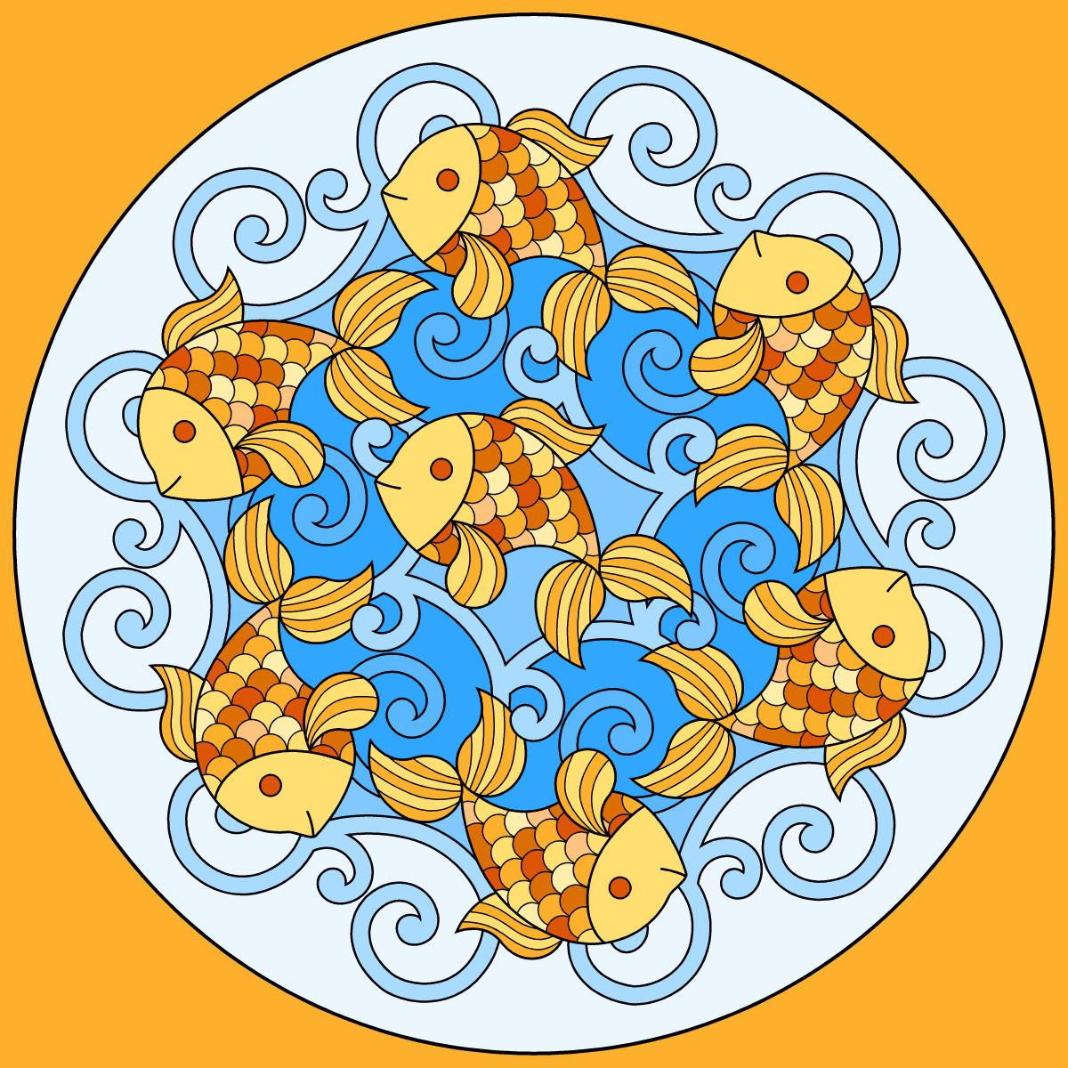 Mandala Animaux À Colorier destiné Sudoku Animaux À Imprimer