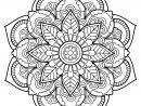 Mandala Livre Gratuit 22 - Mandalas - Coloriages Difficiles tout Cahier Coloriage A Imprimer