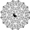 Mandala Yin Yang - Mandalas - Coloriages Difficiles Pour Adultes avec Mandala À Colorier Adulte