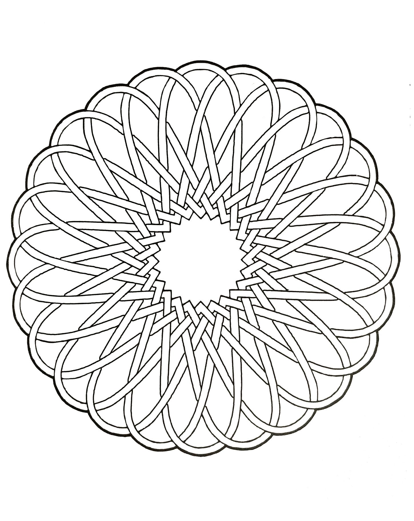 Mandalas A Imprimer Gratuit 56 - Mandalas Zen & Anti-Stress pour Mandala À Colorier Et À Imprimer Gratuit