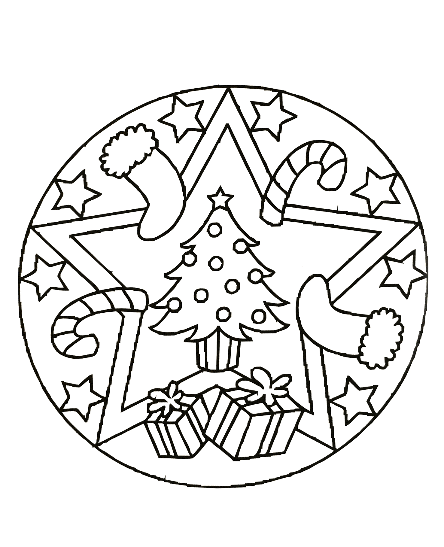 Mandalas A Imprimer Gratuit 68 - Mandalas De Difficulté à Mandala Facile À Imprimer