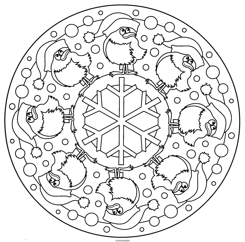 Mandalas Pour Enfants #147 (Mandalas) – Coloriages À Imprimer intérieur Dessiner Un Mandala