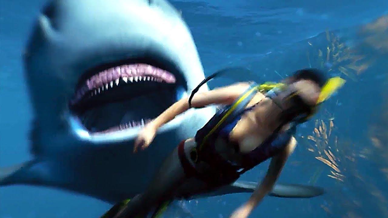 Manheater Bande Annonce (Jeu Avec Un Requin) encequiconcerne Jeux Gratuit Requin Blanc