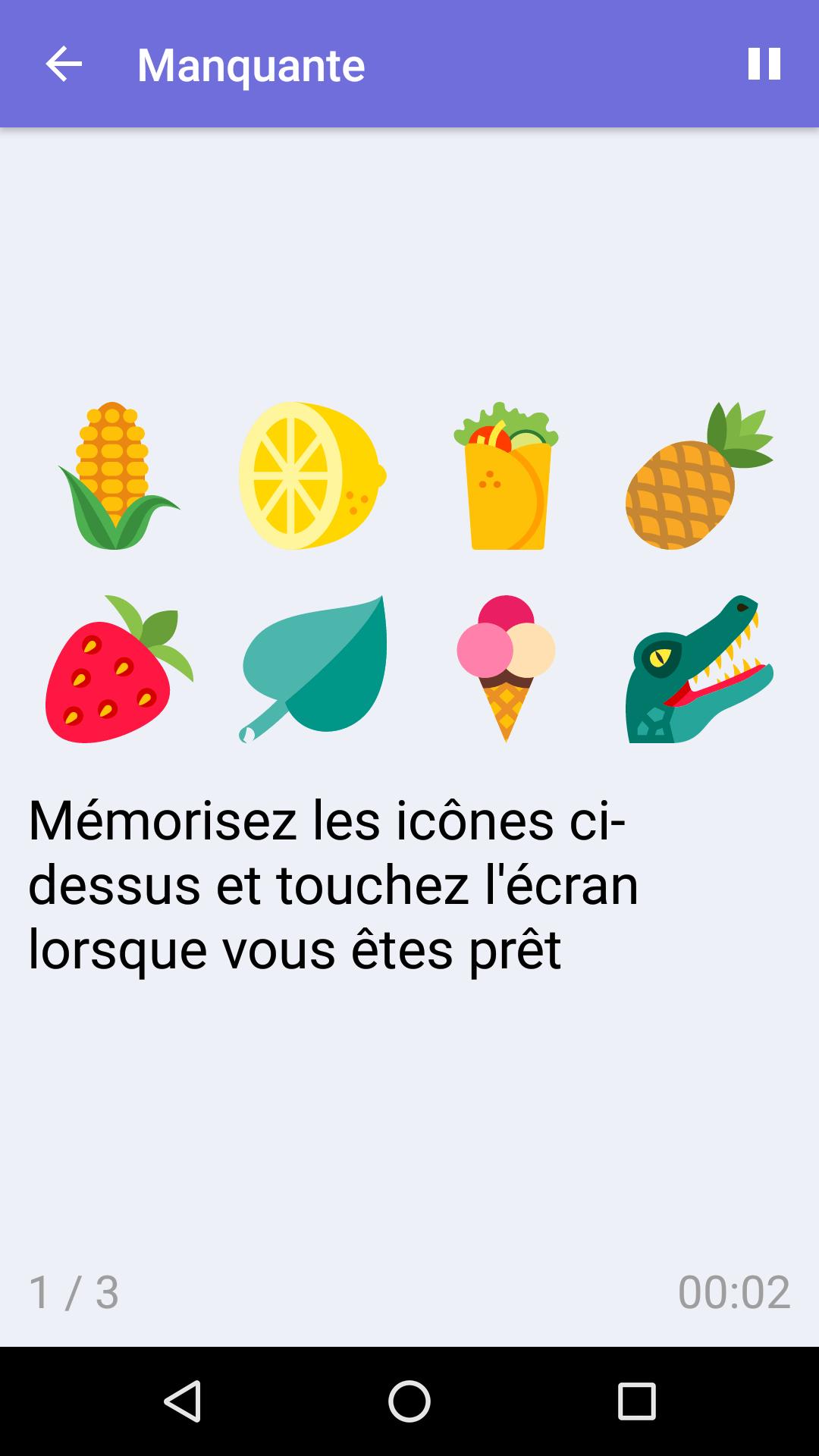 Manquante : Jeu De Mémoire Gratuit Pour Iphone & Android avec Jeux Memoire Gratuit