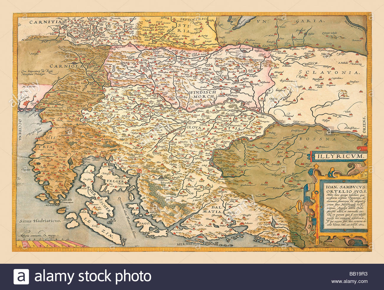 Map Of Eastern Europe #4 Stock Photo: 24001239 - Alamy encequiconcerne Carte Europe De L Est