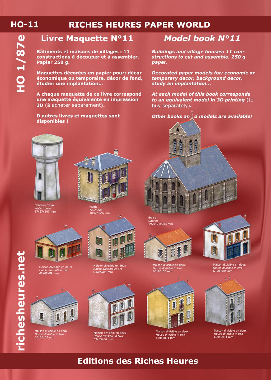 Maquettes En Papier Économiques - Economical Paper Models concernant Maison Papier A Decouper